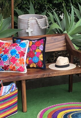 Hand crafted furniture, cushions, pots, rosaries, mats, hats and tote bags