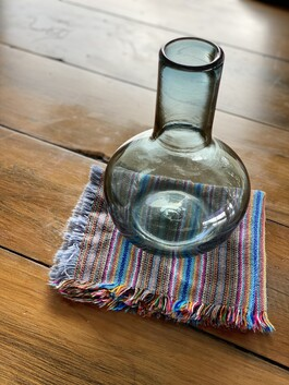 Glass Carafe - smokey