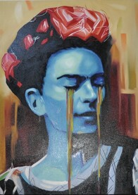 Frida Portrait - for collection only