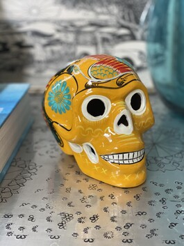 Sugar Skull - Mexican Ceramic