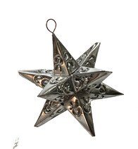 Rustic Tin Star - Silver